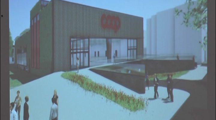 Ex borri la coop presenta il progetto del nuovo supermercato a busto arsizio telecolor - Zero piscina busto ...